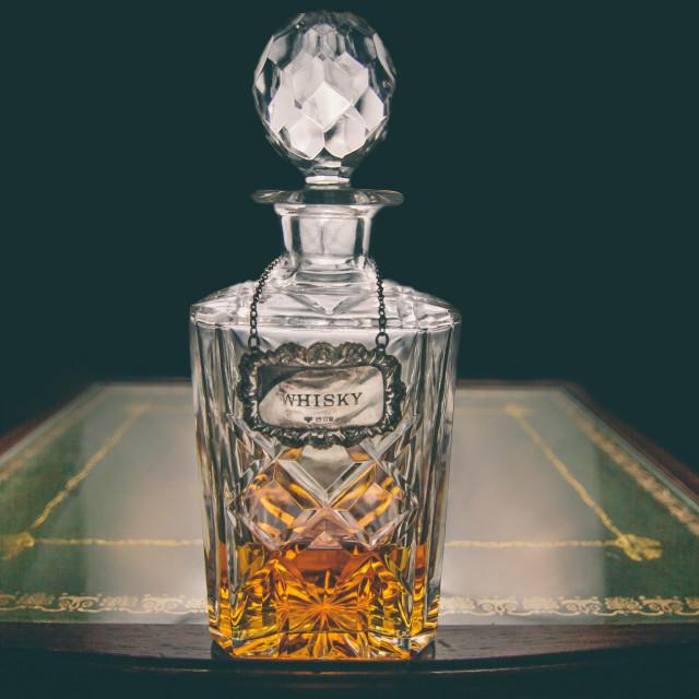 """""""Whiskey"""" stock image"""