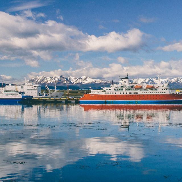 """""""Patagonia Lake"""" stock image"""