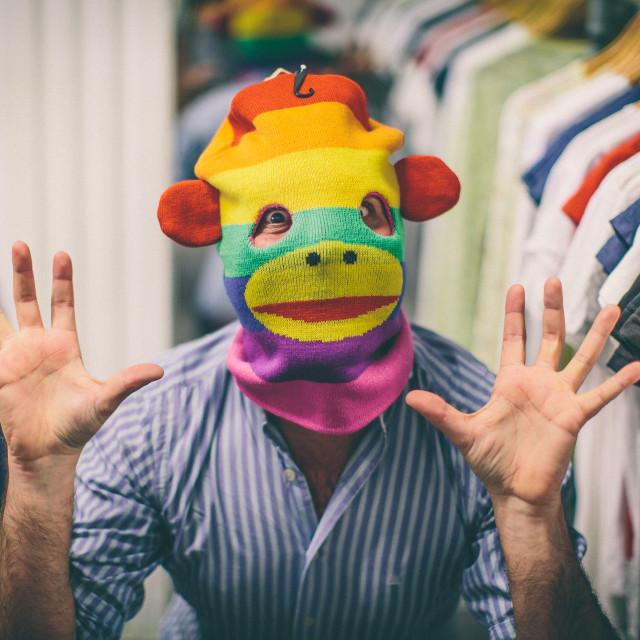 """Puppet head"" stock image"