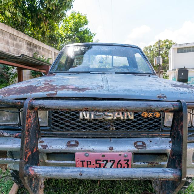 """""""Haitian car"""" stock image"""