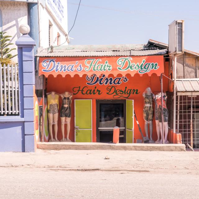 """""""Haiti hair salon"""" stock image"""