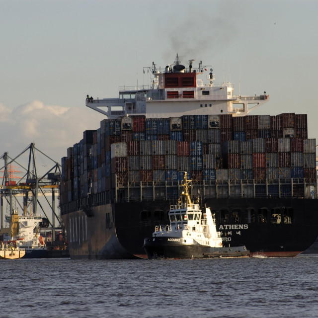 """""""Container shipping"""" stock image"""