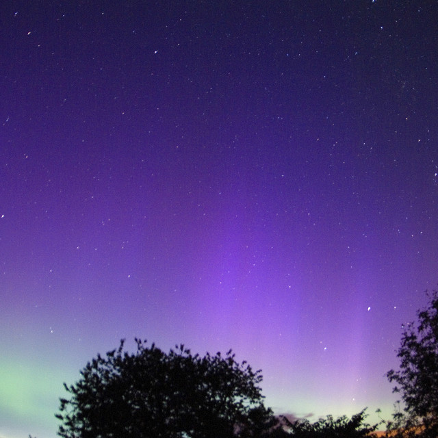 """so2770jhp aurora borealis in july"" stock image"