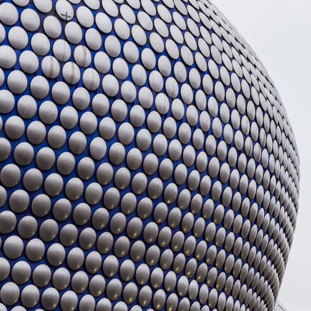 """""""Curved surrounds of the Selfridges Building"""" stock image"""