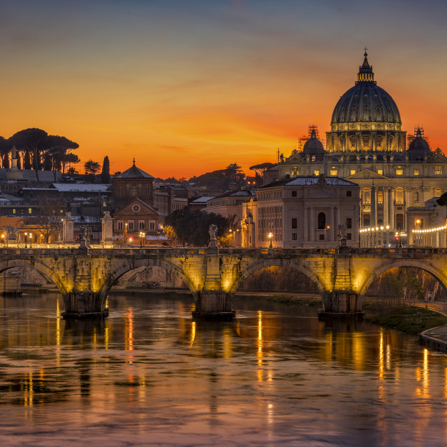 """The Eternal City Rome"" stock image"