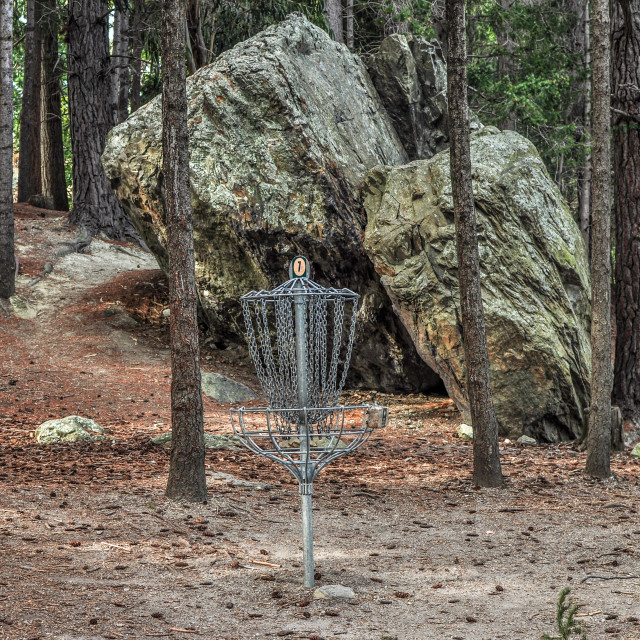 """Frisbee Golf"" stock image"