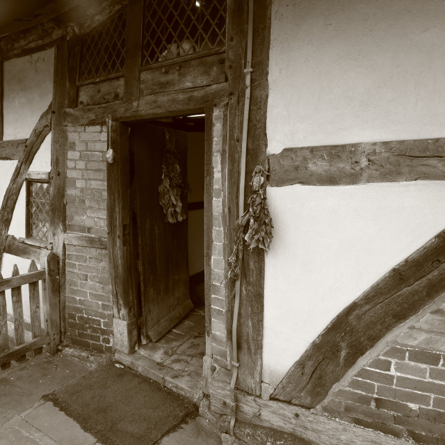 """""""Anne Hathaway's Cottage"""" stock image"""