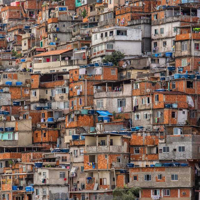 """""""Favela"""" stock image"""