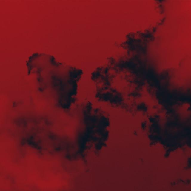 """RED SMOKE"" stock image"