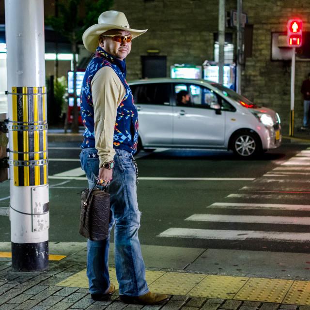 """Midnight Cowboy-san"" stock image"
