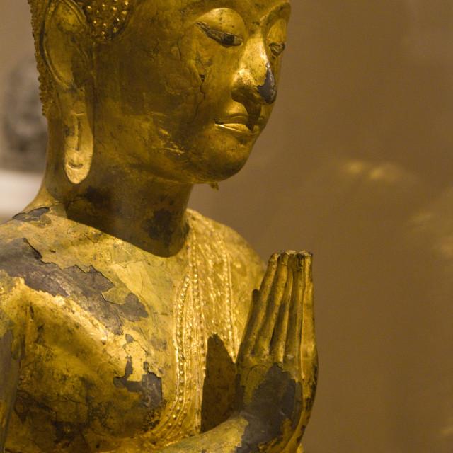 """Statue of Buddha"" stock image"