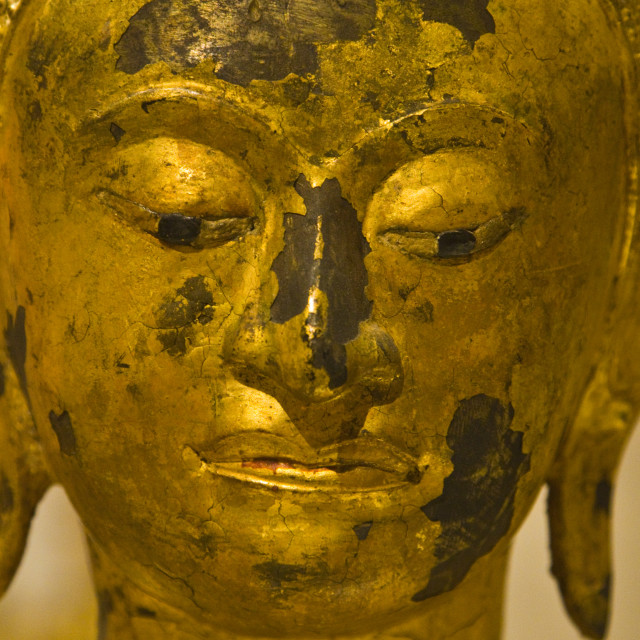 """""""Face of Buddha"""" stock image"""