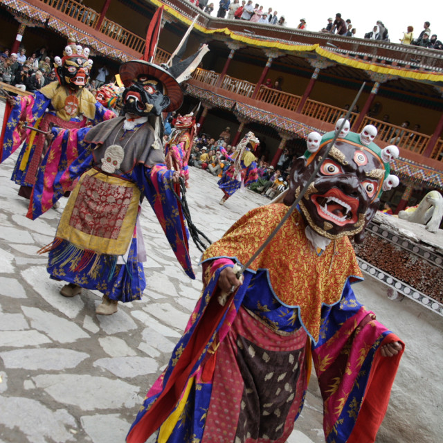 """Hemis Festival, Ladakh, India"" stock image"