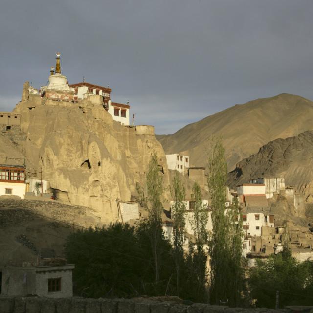 """""""Thiksey Monastery Leh Ladakh, India"""" stock image"""