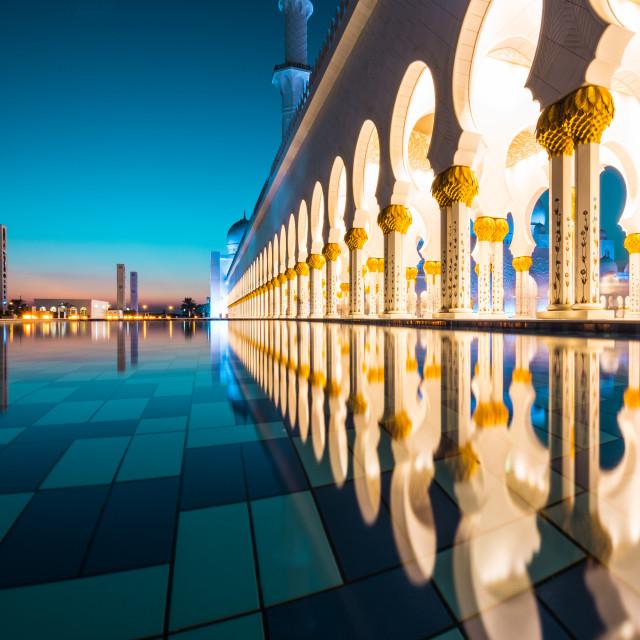 """Abu Dhabi"" stock image"