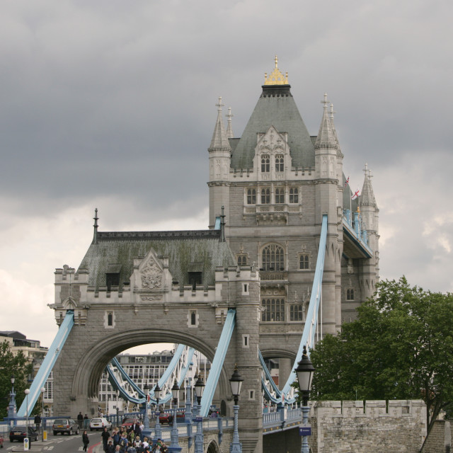 """Tower Bridge_London"" stock image"