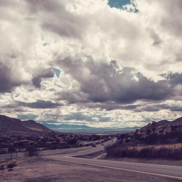"""Texas Canyon, Arizona"" stock image"