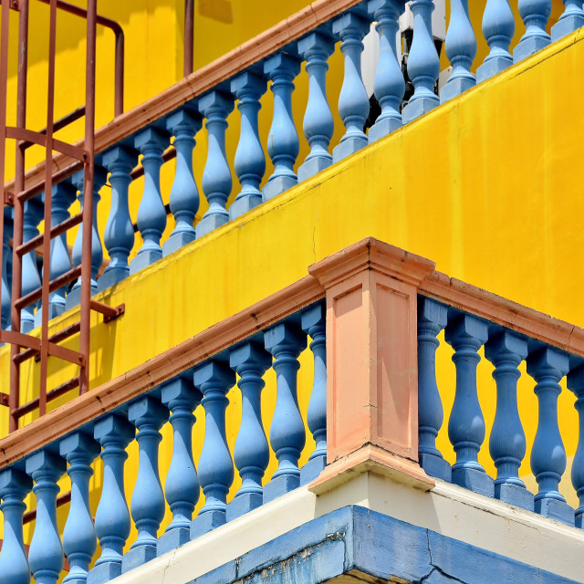 """""""Perspective in Little India"""" stock image"""