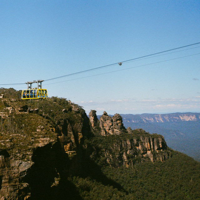 """Katoomba, Blue Mountains"" stock image"