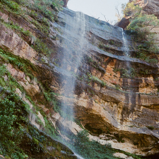 """Katoomba waterfall 2017"" stock image"