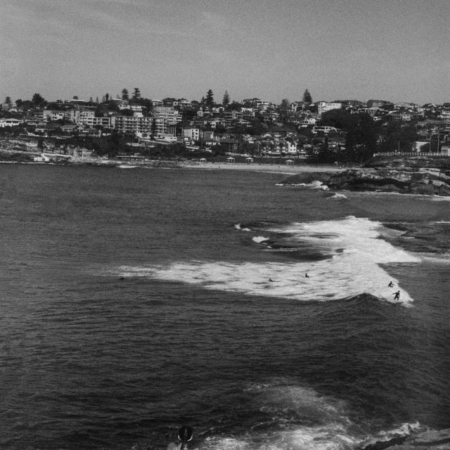 """35mm - Bondi to Bronte Walk"" stock image"
