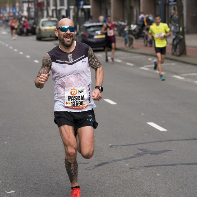 """Marathon runner Pascal"" stock image"