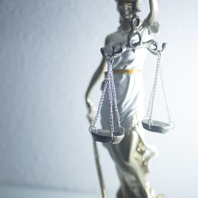 """""""Lawyers legal justice statue"""" stock image"""