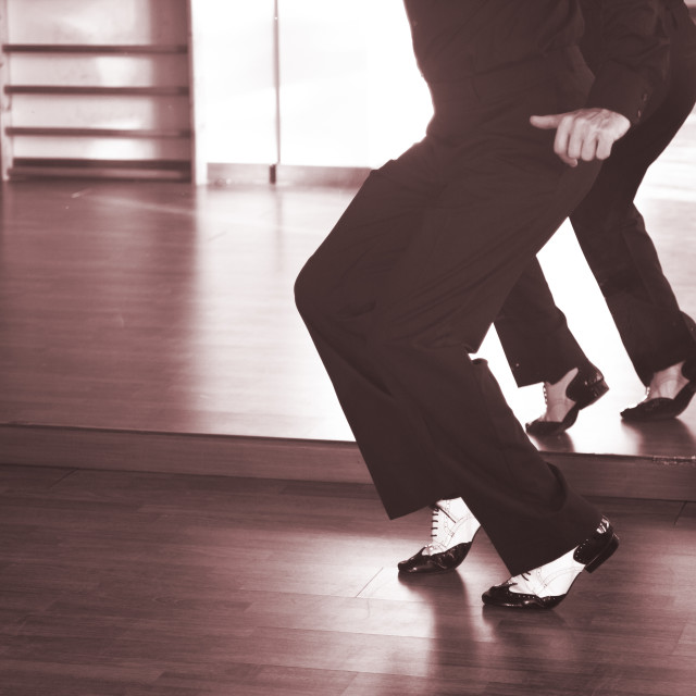 """Ballroom dance male dancer"" stock image"
