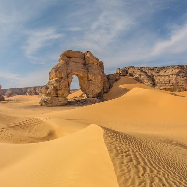 """""""اكاكوس acacus libya arch"""" stock image"""