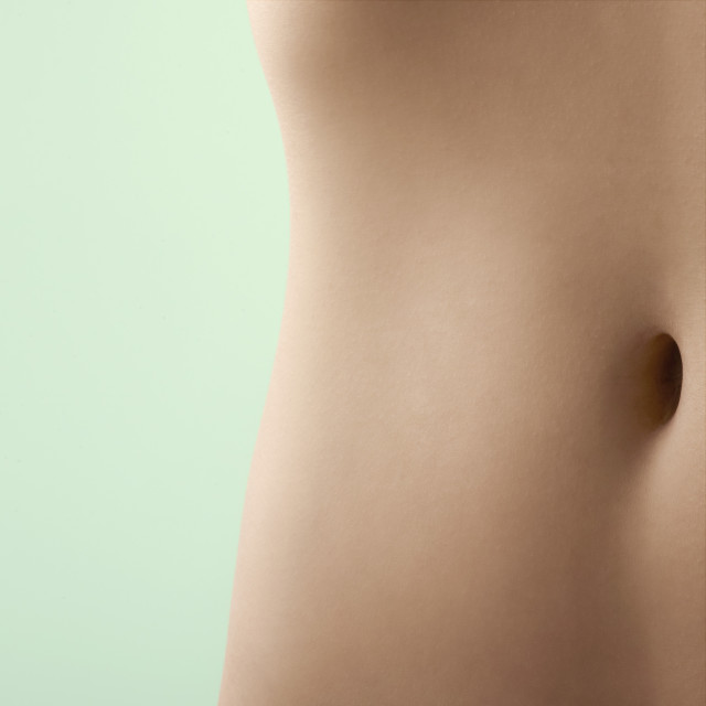 """Woman's abdomen"" stock image"