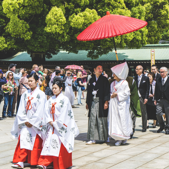 """Japanese Wedding"" stock image"