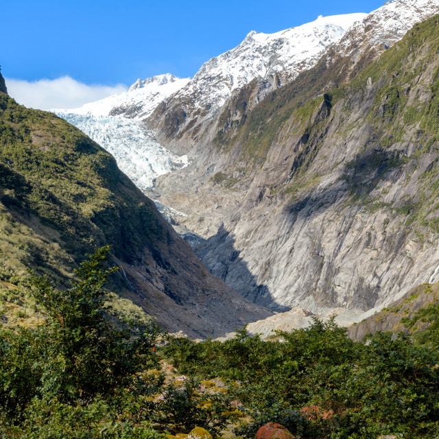 """Franz Josef Glacier Walk"" stock image"