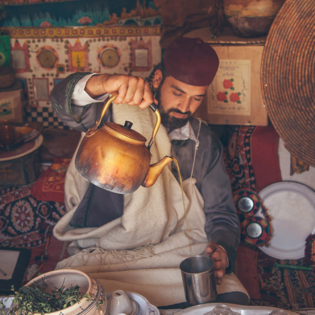 """Libyan Tea"" stock image"