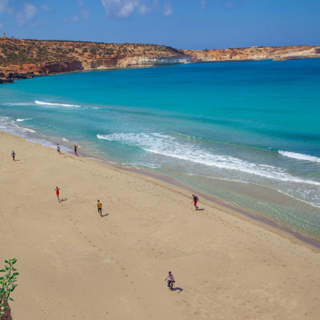 """Ras El Hilal beach"" stock image"