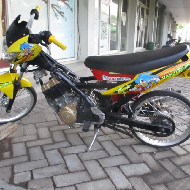 """Special motorbike in Java"" stock image"