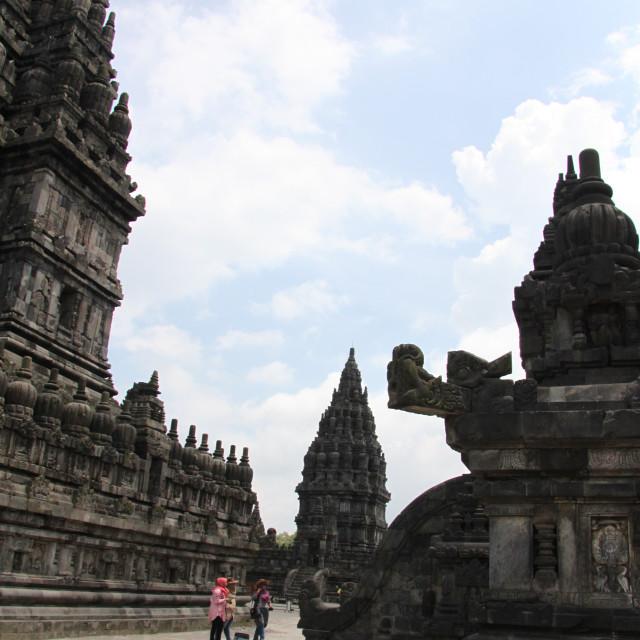 """""""Prambanan Hindhu Temple, Java"""" stock image"""