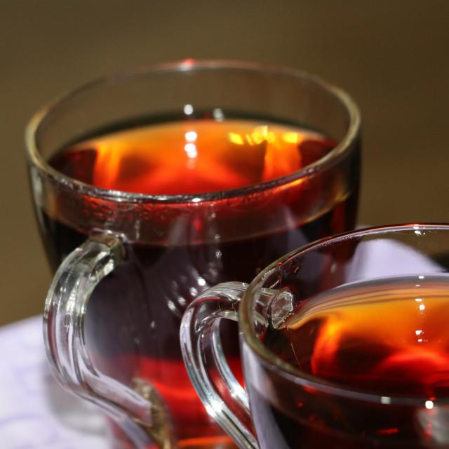 """""""Midnight Tea"""" stock image"""