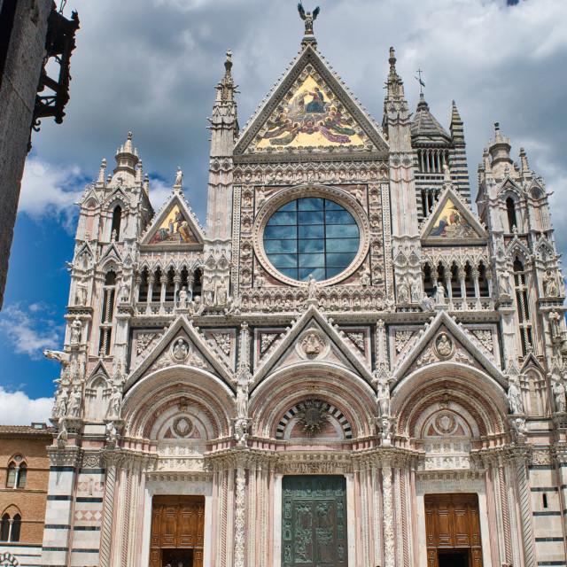 """""""Duomo di Siena"""" stock image"""