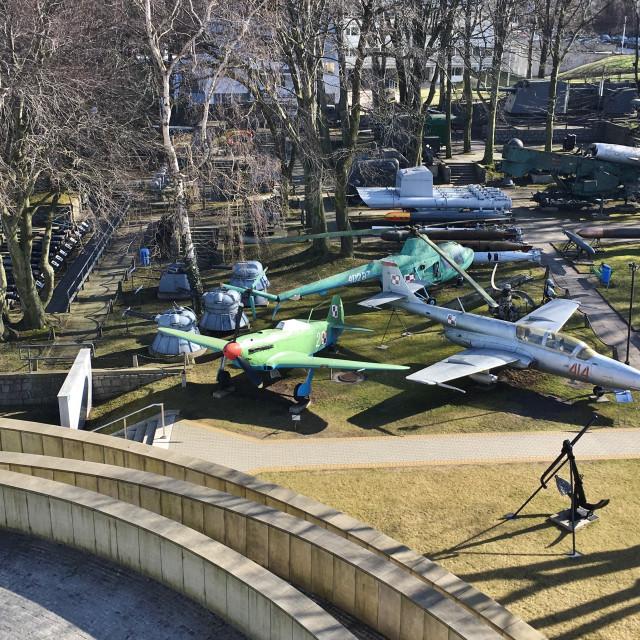 """""""Gdynia: Naval Museum"""" stock image"""