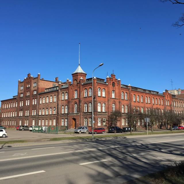 """Gdańsk: Shipyard Directorate"" stock image"