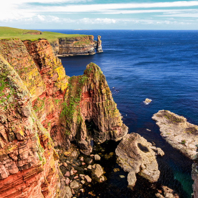 """Duncansby Head"" stock image"