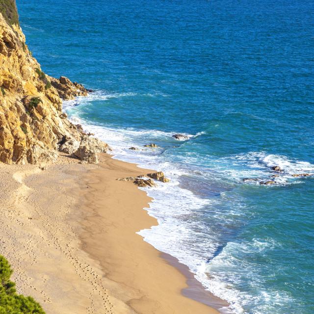 """Idyllic beach"" stock image"