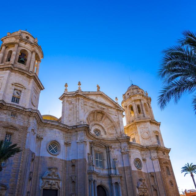 """Cadiz Cathedral"" stock image"
