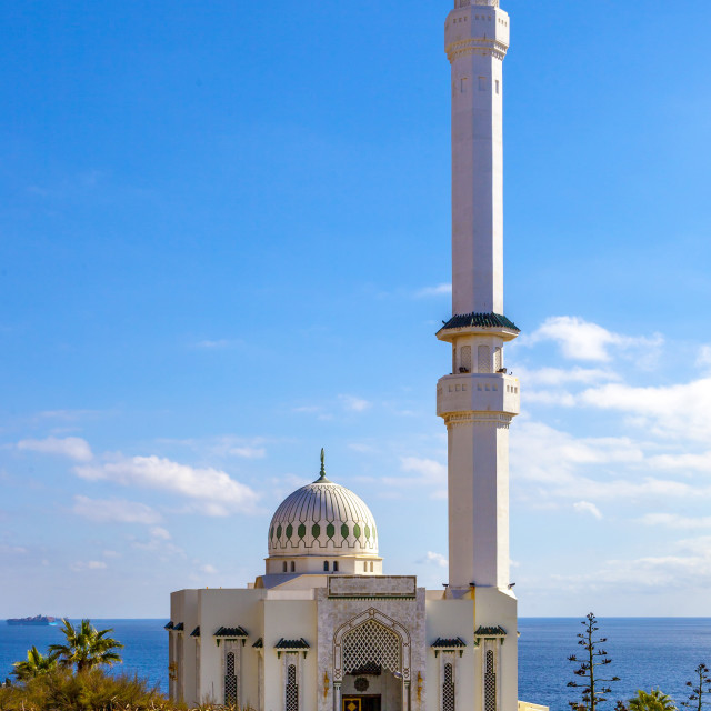 """Gibraltar mosque"" stock image"