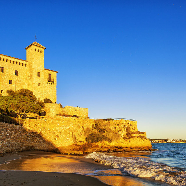 """Tamarit castle"" stock image"