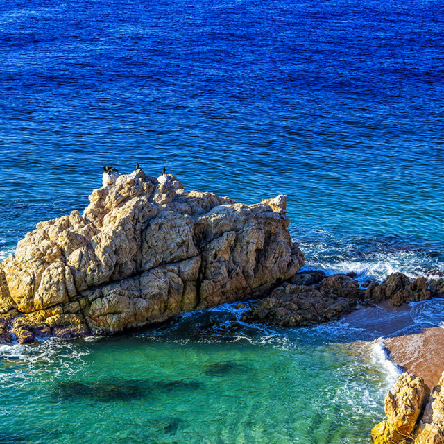 """Turquoise sea"" stock image"