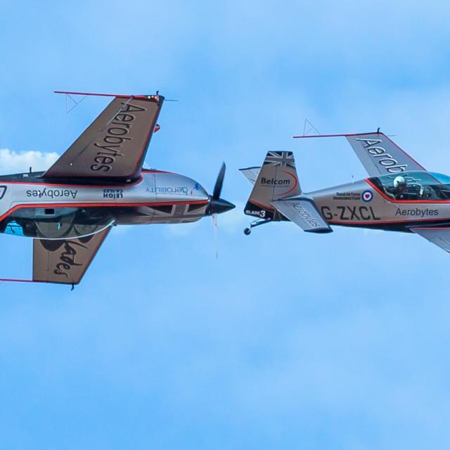 """Aerobytes dogfight"" stock image"