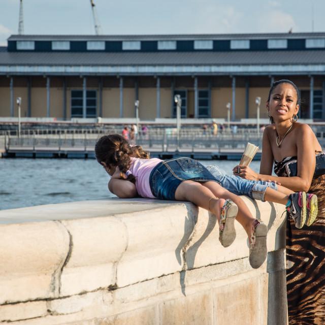 """Havana shore"" stock image"