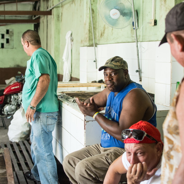 """Rum factory in Cuba 2"" stock image"