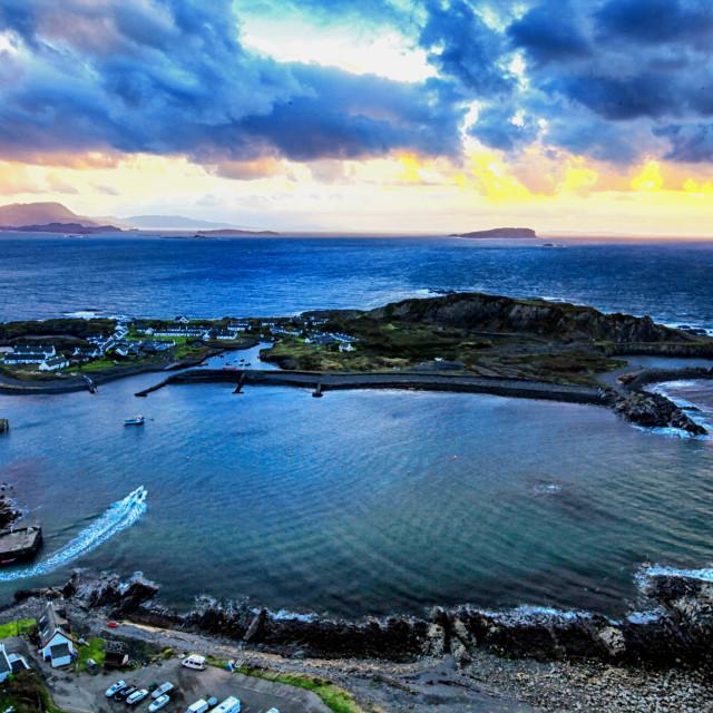 """Easdale Island, Scotland"" stock image"